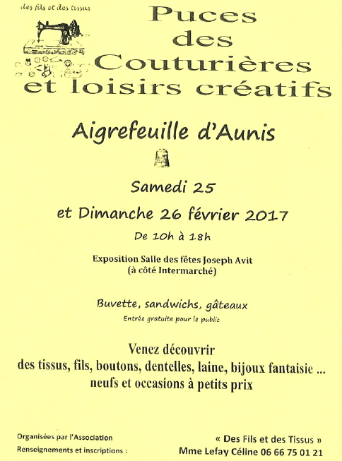 Affiche Aigrefeuille d'Aunis