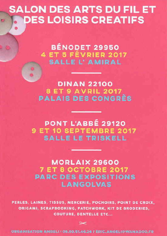 Affiche salons Bretagne