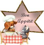 Chat chien Bon appétit
