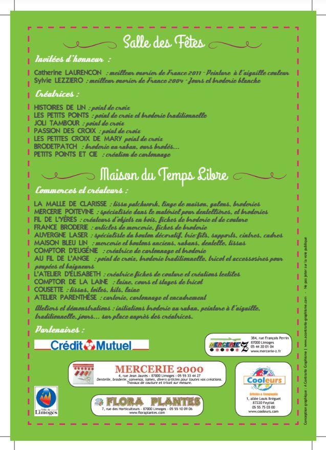 Affiche 2 Limoges 87