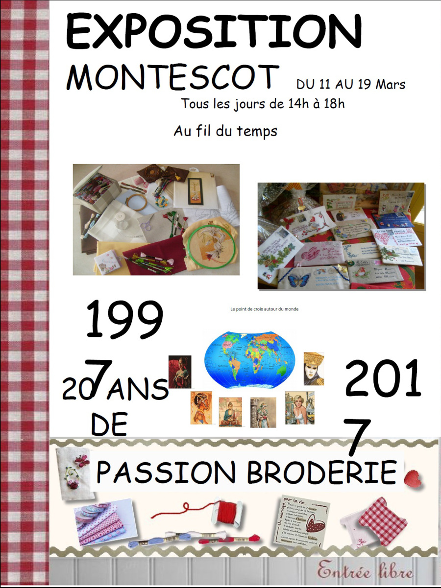 Affiche Montescot 66