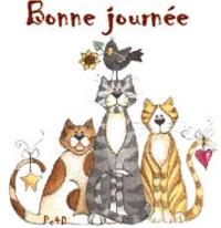 Chats Bonnejournée gif