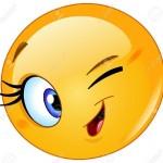 Smiley clein d'oeil gif