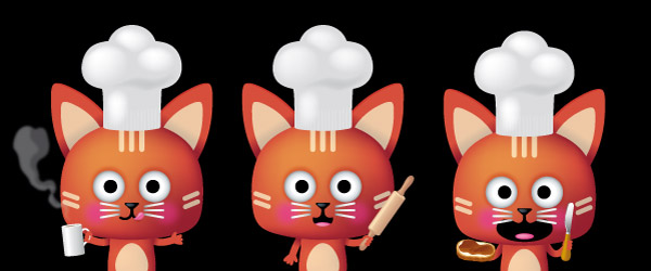 mascotte-chat-cuisinier gif