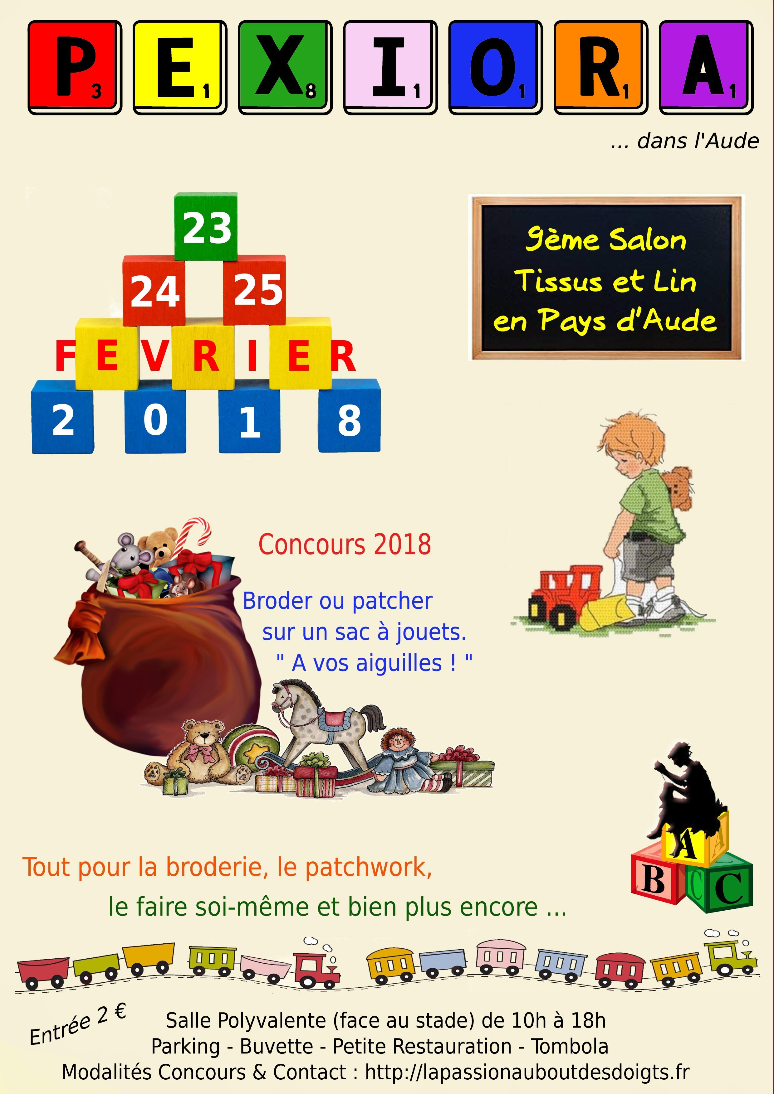 affiche du sallon 2018