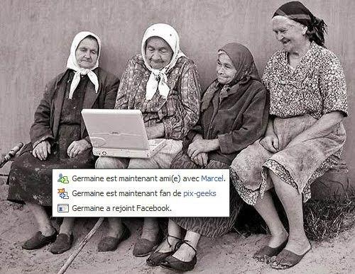 Humour facebook grands mères