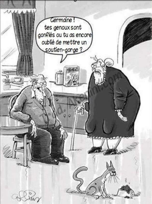 Humour genoux