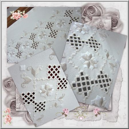 Hardanger chemin de table