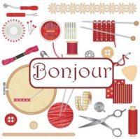 Bonjour couture broderie gif | La passion au bout des doigts, le NOUVEAU  blog !!!