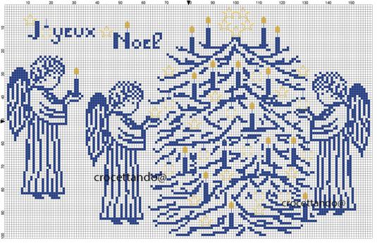 Natale in blu francese