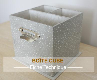 Fiche technique freebie_1 BOITE CUBE L'ATELIER DE FRAMBOISE CHOCOLAT