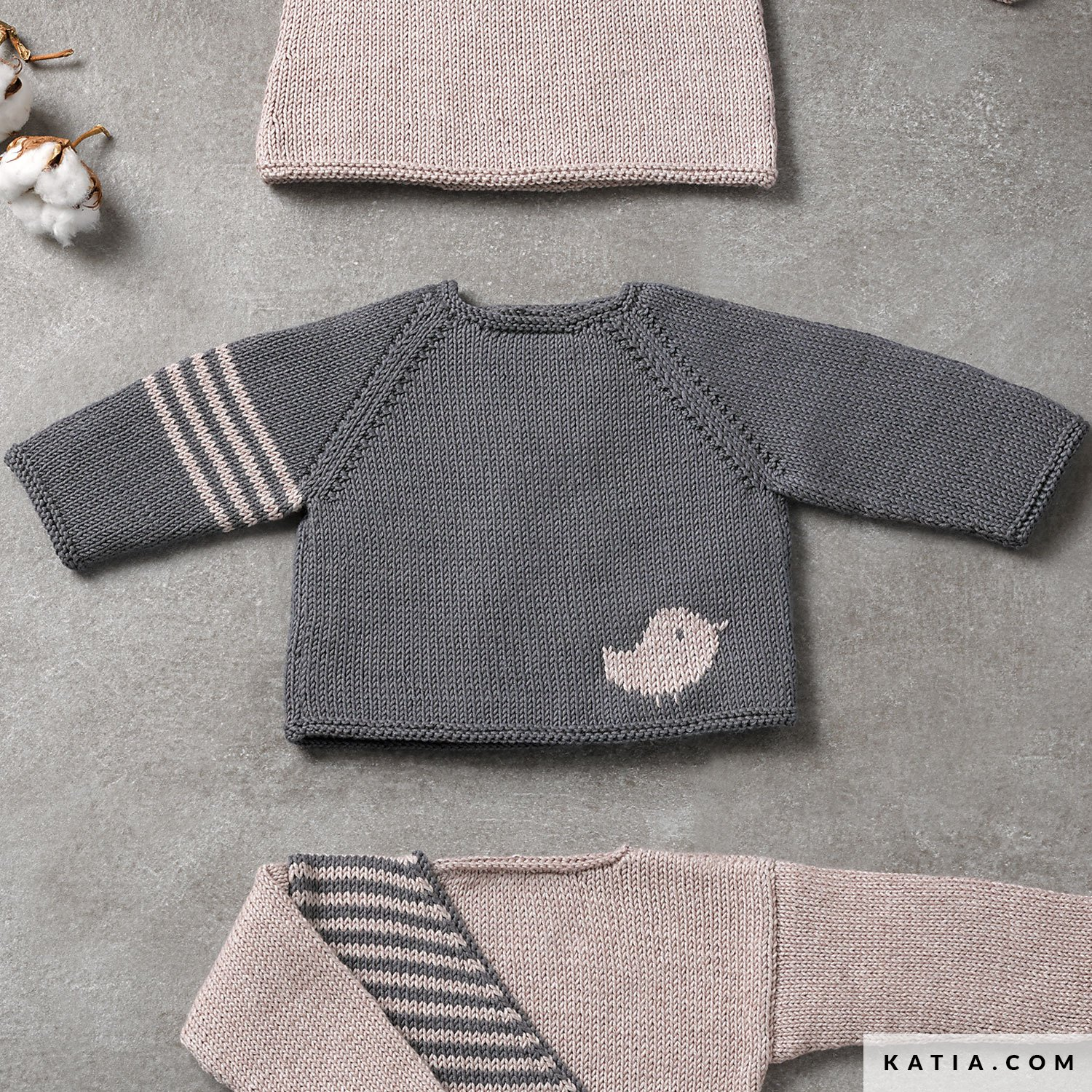 http://lapassionauboutdesdoigts.fr/wp-content/uploads/2021/05/patron-tricoter-tricot-crochet-layette-pull-automne-hiver-katia-6038-15-g.jpg